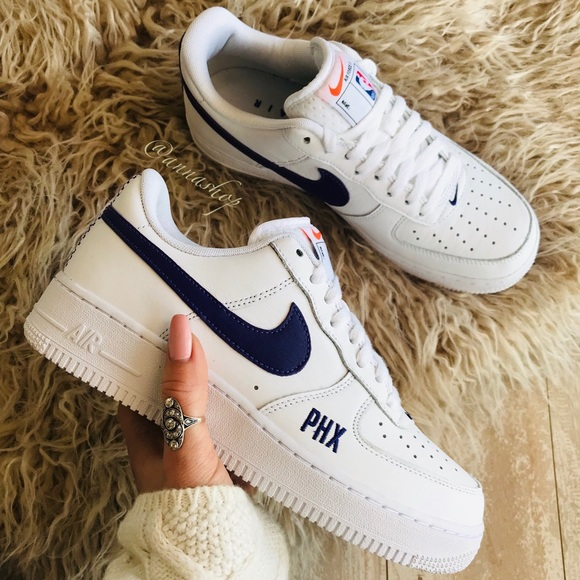 Nwt Custom Nike Af Phoenix Suns